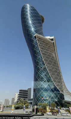 The Capital Gate leaning tower
