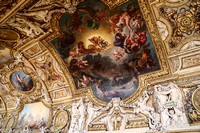Gold decorated ceiling