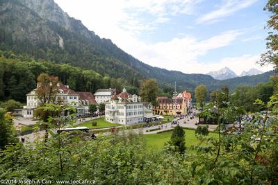 Hohenschwangau town