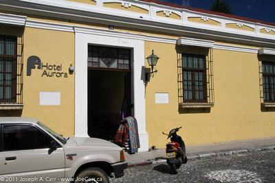 Hotel Aurora storefront