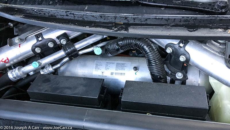 Air conditioning tank & plumbing