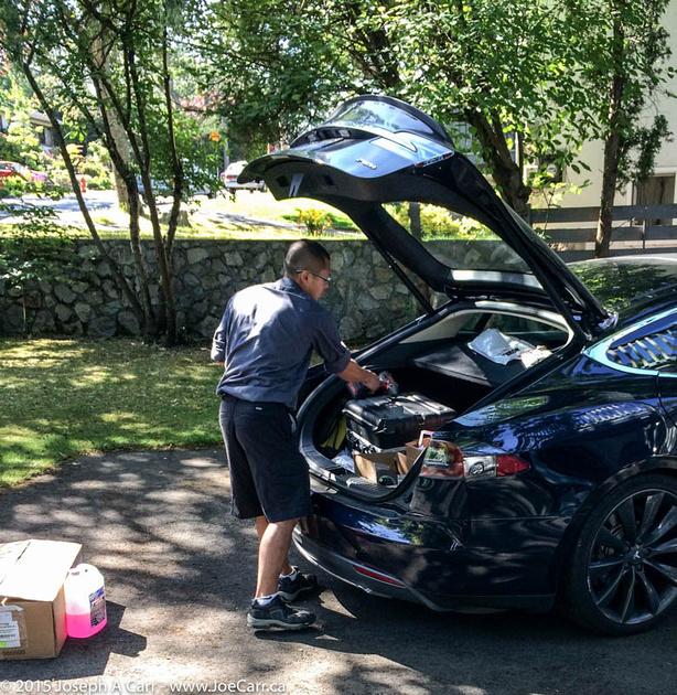 Tesla tech & his Model S