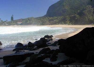 Ha'ena Beach (aka Tunnels Beach)