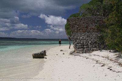 Walking the beach on Kanamera Bay