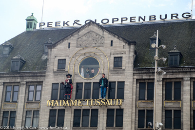 Madame Tussaud building