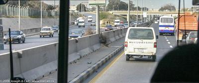 Freeway near Tripoli