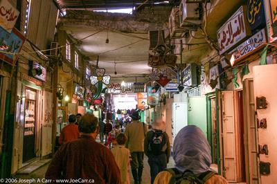 Shops in the Souk, Benghazi