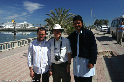 Our bus driver, Ralph Chu and our guide Fatid