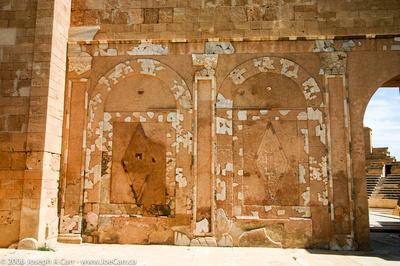 Entranceway to Sabratha Theatre