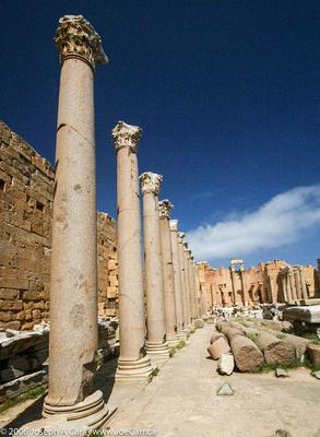 Basilica beside the Forum of Severus