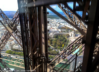 Ascending the Eiffel Tower
