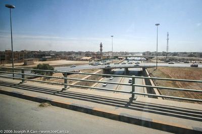 Freeway in Benghazi