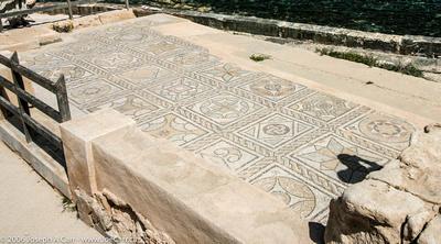Geometric tile, Theatre Baths