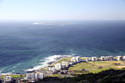 Robben Island from Signal Hill