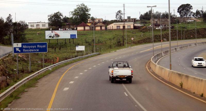 Expressway into Mbabane