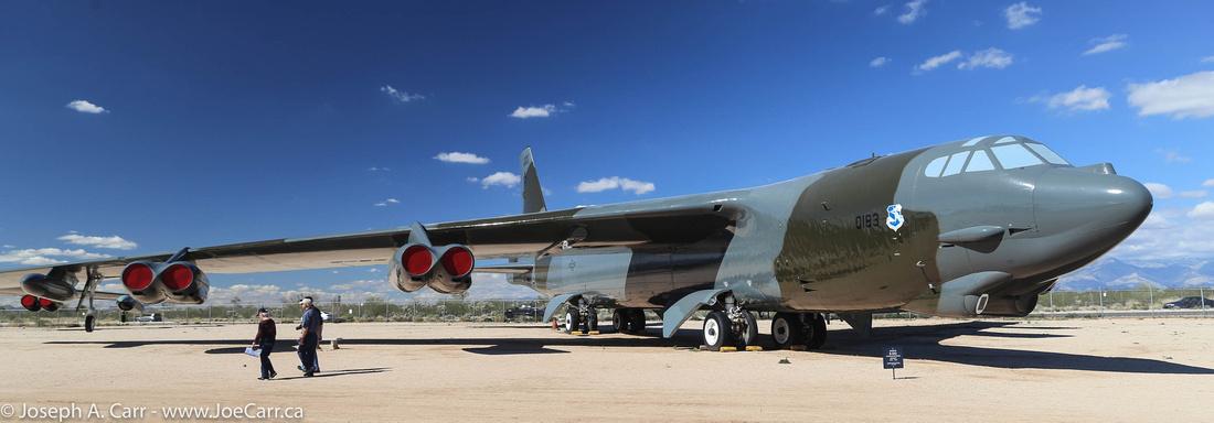 Boeing B-52G Stratofortress bomber