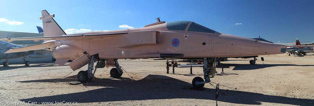Sepecat Jaguar GR.1 fighter-bomber
