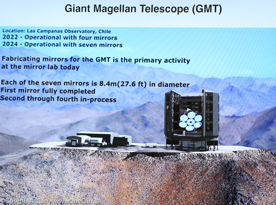 Slide: Giant Magellan Telescope