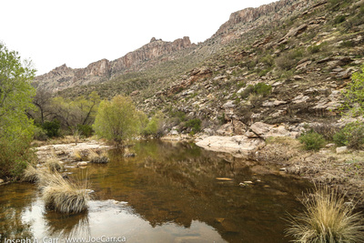 Sabino Stream pools