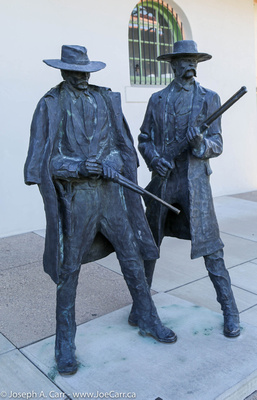 Statues of Wyatt Earp & Doc Holliday