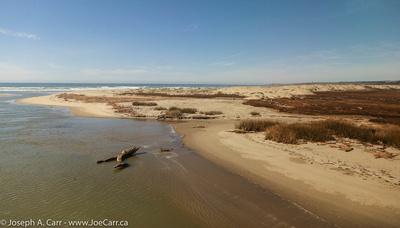 Sand dunes and estuary