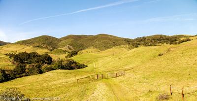 Hilly rangeland
