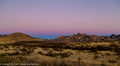The Belt of Venus and the Dragoon Mountains