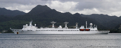 Yuan Wang 6 Chinese missile & satellite tracking ship