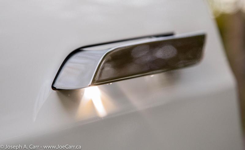 Extended and lit door handle