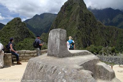 Incan sundial