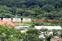 Panama Canal Railway train