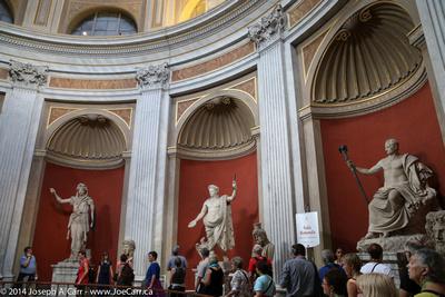 Sala Rotunda - Museo Pio Clementino