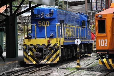 Peru Rail engine