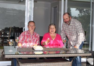 Joe Carr, Cindy & Graeme Bailey