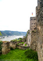 Rheinfels Castle and the Rhine River