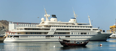 Al Said, the Sultan's yacht