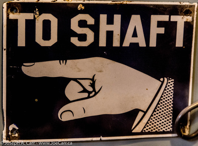 Sign: To Shaft