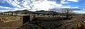 Panorama of the sunrise from Garry Sedun's place