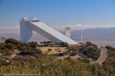 McMath - Pierce former solar telescope