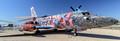 Andrew Schoultz Spy Tiger, 2012 - acrylic on Lockheed VC-140 Jetstar