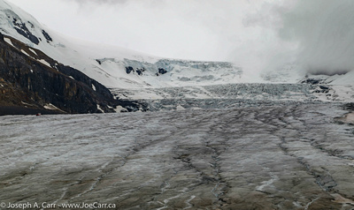 Upper reaches of the Columbia Icefield