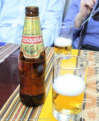 Cusquena - Peruvian beer