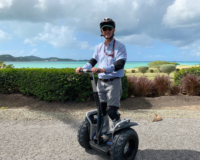 Joe on a Segway