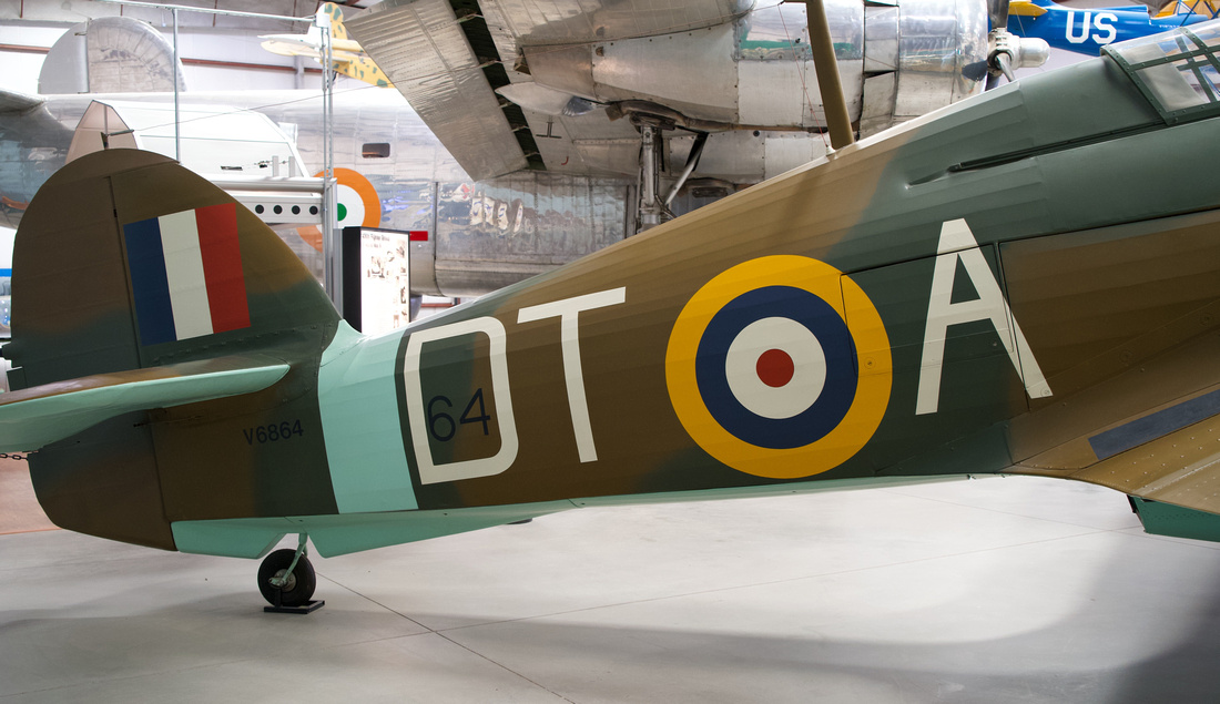 Hawker Hurricane tail markings