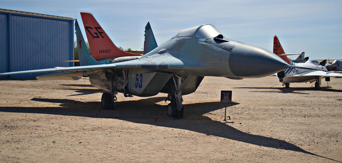 Mikoyan-Gurevich MiG-28 Fulcrum A Interceptor