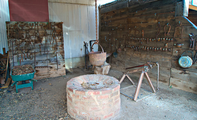 The forge for the mine