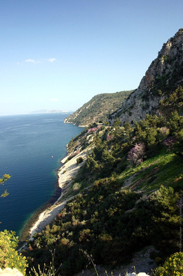 Beautiful coast near Epidaurus