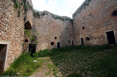 Inside the Palamidhi Castle walls