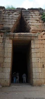 Entranceway to the Treasury of Atreus