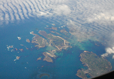 Guernsey and the south coast of Wales